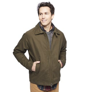 Lucky Brand Men's Golf Jacket with Bib