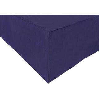 Babyletto In Bloom Navy Cotton Crib Skirt