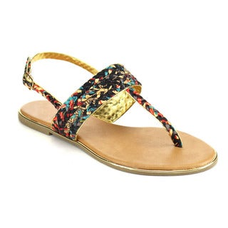 Beston Thong T-Strap Sandals