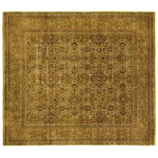 Agra Gold / Ivory New Zealand Wool Rug (9' x 10')