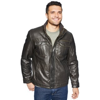 GH Bass Men's Full Sherpa Lining Jacket