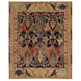 Empire Beige / Multicolor New Zealand Wool Rug (10' x 14')