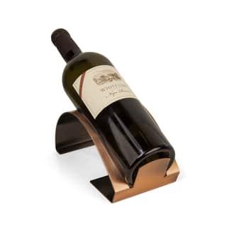 Danya B Single Bottle Copper Elecroplated Wine Holder|https://ak1.ostkcdn.com/images/products/11770566/P18683299.jpg?impolicy=medium