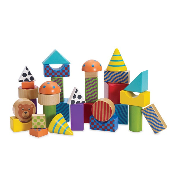 Manhattan Toy Create & Play Pattern Blocks
