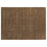 Exquisite Rugs Soho Chocolate New Zealand Wool Rug - 9' x 12'