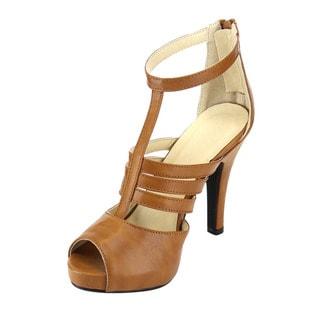 Beston Ankle Strap Heels