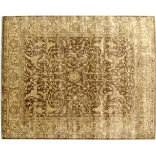 Sultanabad Tobacco / Beige New Zealand Wool Rug (8' x 10')
