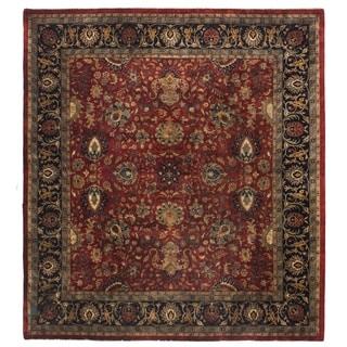 Super Mashad Red New Zealand Wool Rug (8' x 10')
