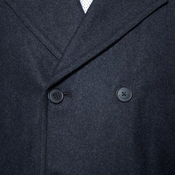 någonsin populär enormt lager lågt pris Wool & Blends Tommy Hilfiger Mens Wool-Blend Melton Classic ...