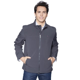 Tommy Hilfiger Men's Soft Shell Classic Stand Collar Jacket