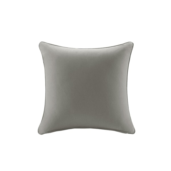 Madison Park Mission Taupe Solid 3m Scotchgard Outdoor Pillow