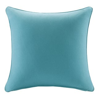 Madison Park Mission Aqua Solid 3M Scotchgard Indoor/ Outdoor Pillow 20-inch