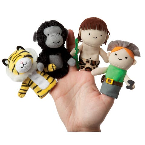 Manhattan Toy Storytime A Jungle Story Finger Puppet Set