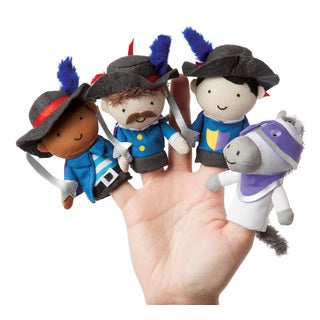 Manhattan Toy Storytime Musketeer Mates Finger Puppet Set