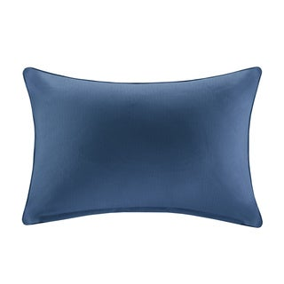 Madison Park Mission Aqua Solid 3M Scotchgard Indoor/ Outdoor Pillow