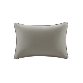 Madison Park Mission Taupe Solid 3M Scotchgard Indoor/ Outdoor Pillow