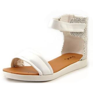 Qupid Women's 'Dale-06' Faux Leather Sandals