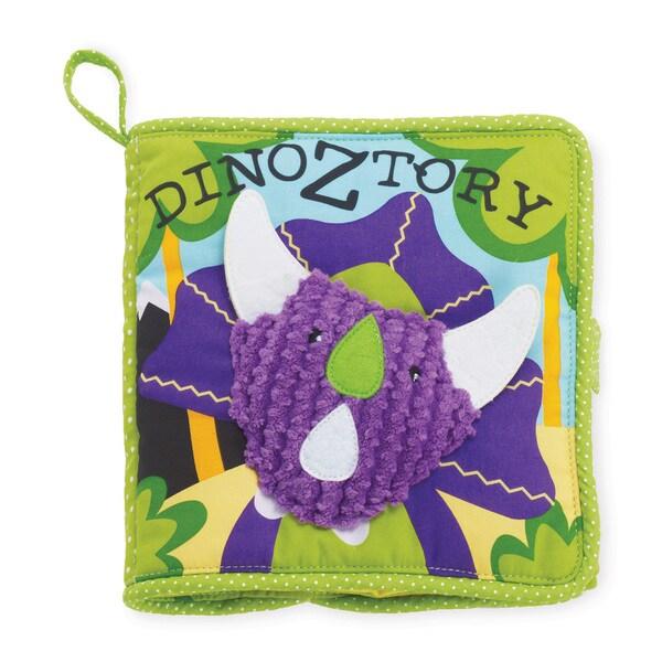 Manhattan Toy A Dinoztory Fabric 7-inch Soft Activity Book