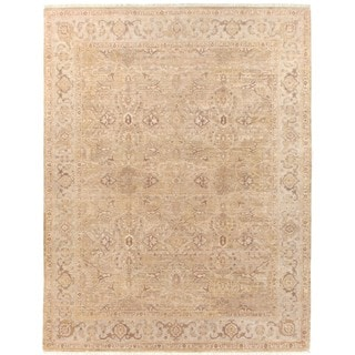 Ziegler Camel / Beige New Zealand Wool Rug (8' x 10')