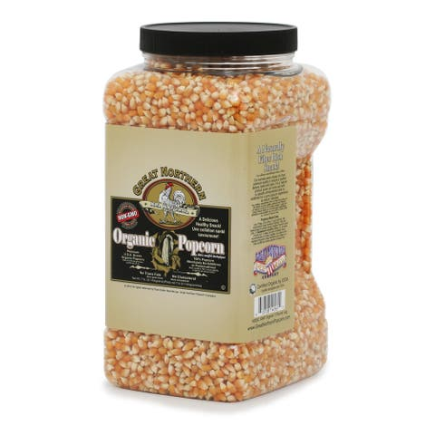 Great Northern 7-pound Organic Yellow All-Natural Gourmet Popcorn