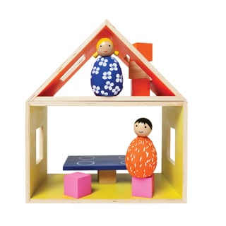 MIO by Manhattan Toy Wooden Eating Set