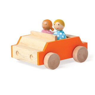 Manhattan Toy MiO Car + 2-People Accessory Set