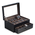 Black Purple Watch Boxes