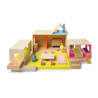 Manhattan Toy MiO Playing Eating Sleeping Working 2 People Modular Building Set