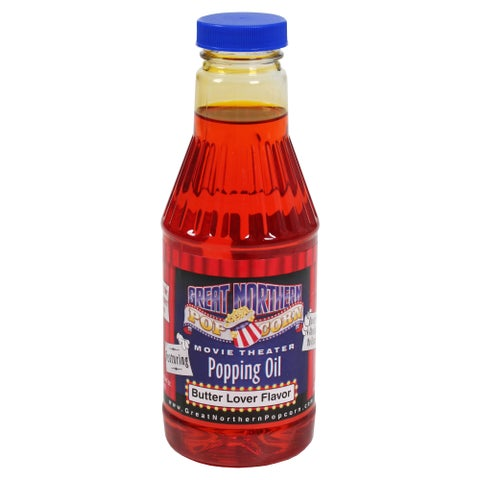 Great Northern Popcorn 16-Ounce Premium Butter-Flavored Popcorn Popping Oil