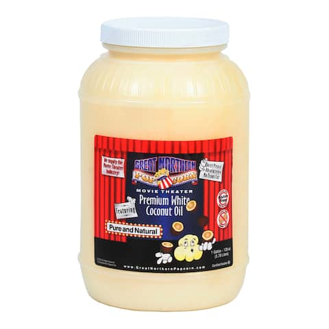 Great Northern Popcorn 1-gallon Premium White Coconut Oil