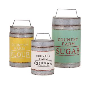 Dairy Barn Decorative Lidded Containers (Set of 3)