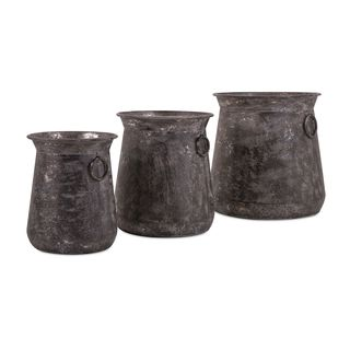 Homestead Metal Pots (Set of 3)