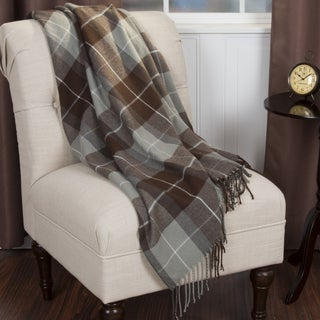 Windsor Home Cashmere-Like Blanket Throw - Brown