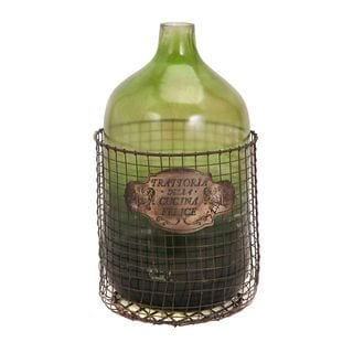 Caged Glass Jug