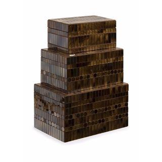 Chai Mosaic Boxes (Set of 3)