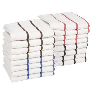 Windsor Home 16-piece Cotton Chevron Terry Kitchen Towel