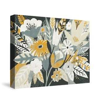 Laural Home Vintage Bouquet Yellow Canvas Wall Art