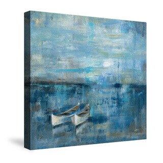 Laural Home Two Boats Canvas Wall Art