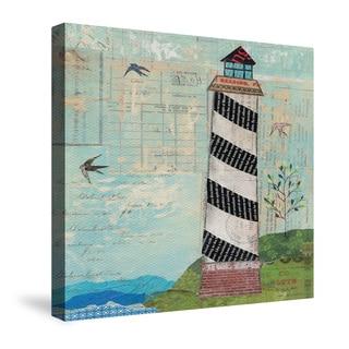 Laural Home Coastal Lighthouse Canvas Wall Art