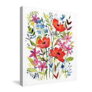 Laural Home Anne's Flowers Canvas Wall Art