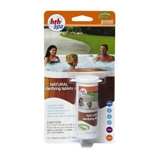 HTH Spa Natural Clarifier Tabs for Spas and Hot Tubs