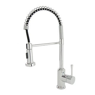 S-Series Chrome Residential Spring Coil Kitchen Faucet