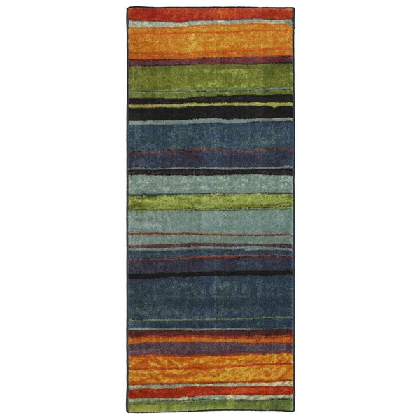 Mohawk Home New Wave Rainbow Multi (2' x 5')