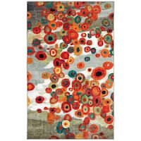 The Gray Barn Mountain Spirit Abstract Floral Area Rug - 2'6 x 3'10