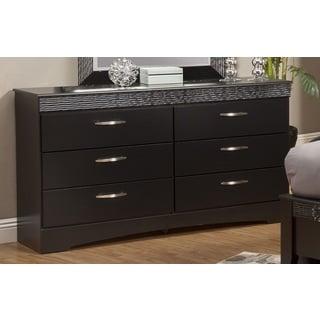 Sandberg Furniture Jolie 6 Drawer Dresser