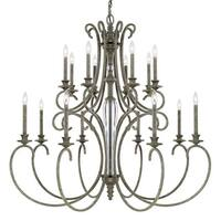 Capital Lighting Everleigh Collection 16-light French Greige Chandelier