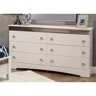 Sandberg Furniture Celeste 6 Drawer Dresser