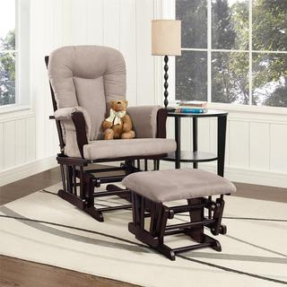 Dorel Living Glider Rocker and Ottoman