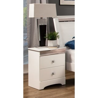 Sandberg Furniture Celeste 2 Drawer Nightstand