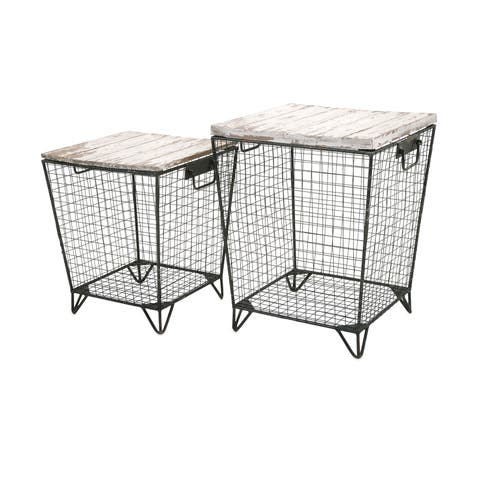 Ava Cage Tables (Set of 2)